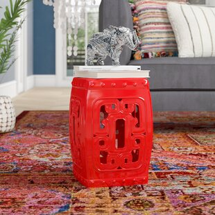 Agate Creek Ceramic Garden Stool