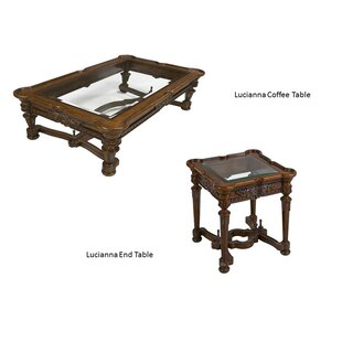 Lucianna 2 Piece Coffee Table Set Benetti's Italia