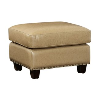 Darby Home Co Howa Leather Ottoman