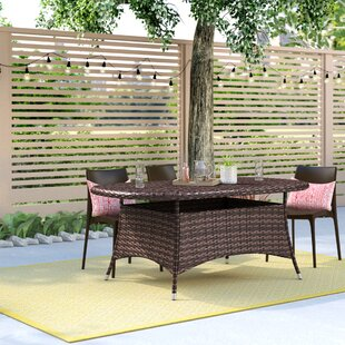 Searching for Bleich Outdoor Wicker Dining Table Great Price