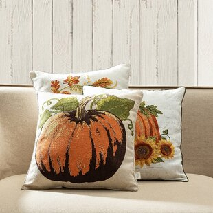 Fall Pumpkin Pillows Wayfair
