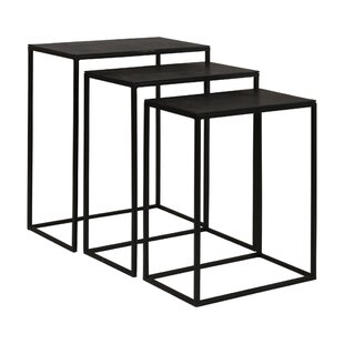 Carr Iron 3 Piece Nesting Tables (Set Of 3) By Ophelia & Co.