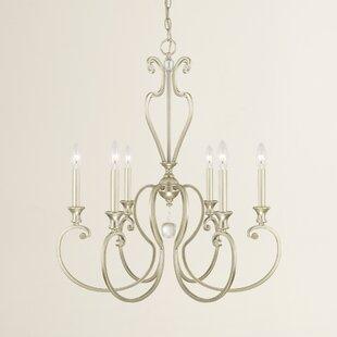 Deals Alnwick 6-Light Chandelier By House of Hampton