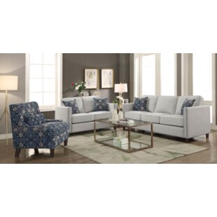Ortensia 2 Piece Living Room Set by DarHome Co