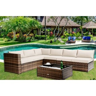 Chalfonte 5 Piece Sectional Set with Cushions