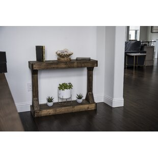 Dexter Solid Wood Console Table By Union Rustic