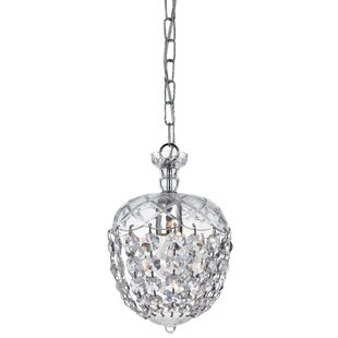 Crystorama Celia 1-Light Crystal Pendant