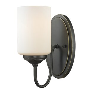 Weatherly 1-Light Bath Sconce by Charlton Home