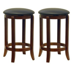 Iverson 2 Piece Swivel Bar Stool Set by Darby Home Co