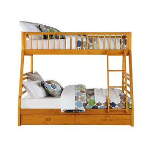Dionara Twin over Full Bunk Bed with 2 Drawers