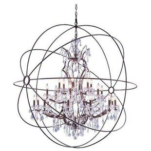 Rosdorf Park Oldene 20-Light Globe Chandelier