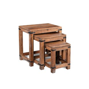 Anja 3 Piece Nesting Tables by Alcott Hill