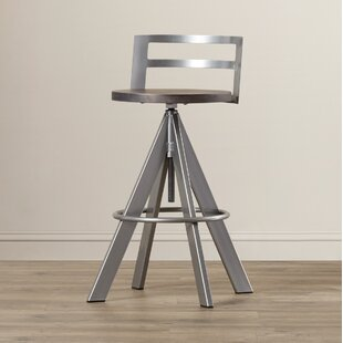 Louque Adjustable Height Bar Stool