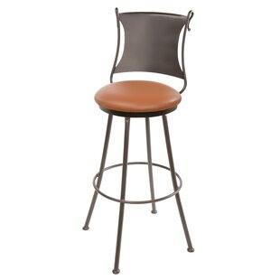 Chittum 30 Swivel Bar Stool Fleur De Lis Living