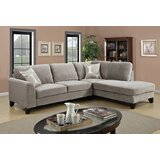Serra 111 Right Hand Facing Sectional by Charlton Home®