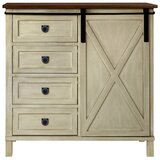 Quade Farmhouse 4 Drawer Accent Cabinet by Gracie Oaks