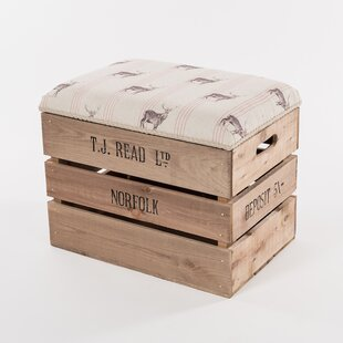 Caudle Storage Stool By Union Rustic