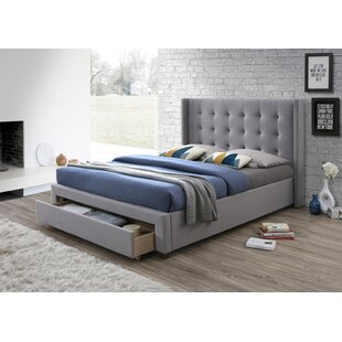 Review Rudolph Upholstered Storage Bed