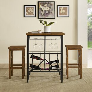 Sienna 3 Piece Dining Set