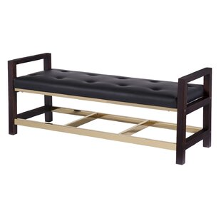 Heinz Upholstered Bench by Mercer41 Read Reviews