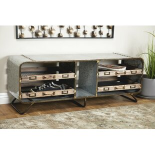 Rainey Metal Storage Bench by Williston Forge