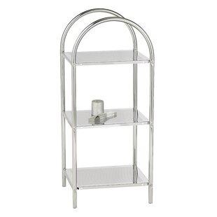 Artin 37cm X 87cm Bathroom Shelf By Symple Stuff