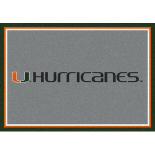 Collegiate University of Miami Hurricanes Doormat By My Team by Milliken