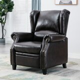 Amata Faux Leather Manual Recliner by Canora Grey