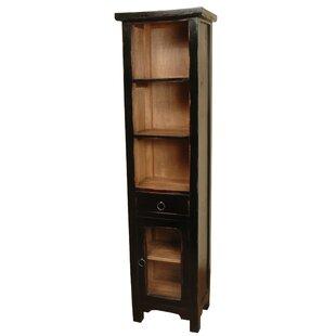Loon Peak Plattsburgh Glazed Accent Cabinet