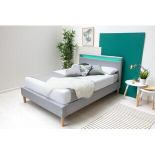 Coweta Upholstered Bed Frame With Mattress By Ebern Designs