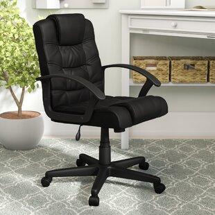 Charlton Home Milton Mid-Back Desk Chair