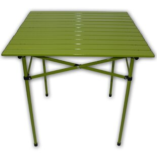 Lightweight Aluminum Picnic Table by String Light Company 2019 Sale