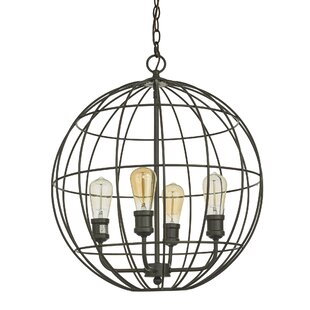 Myler 4-Light Globe Chandelier by Williston Forge