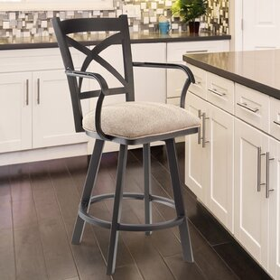 Tuveson 26 Swivel Bar Stool by Red Barrel Studio