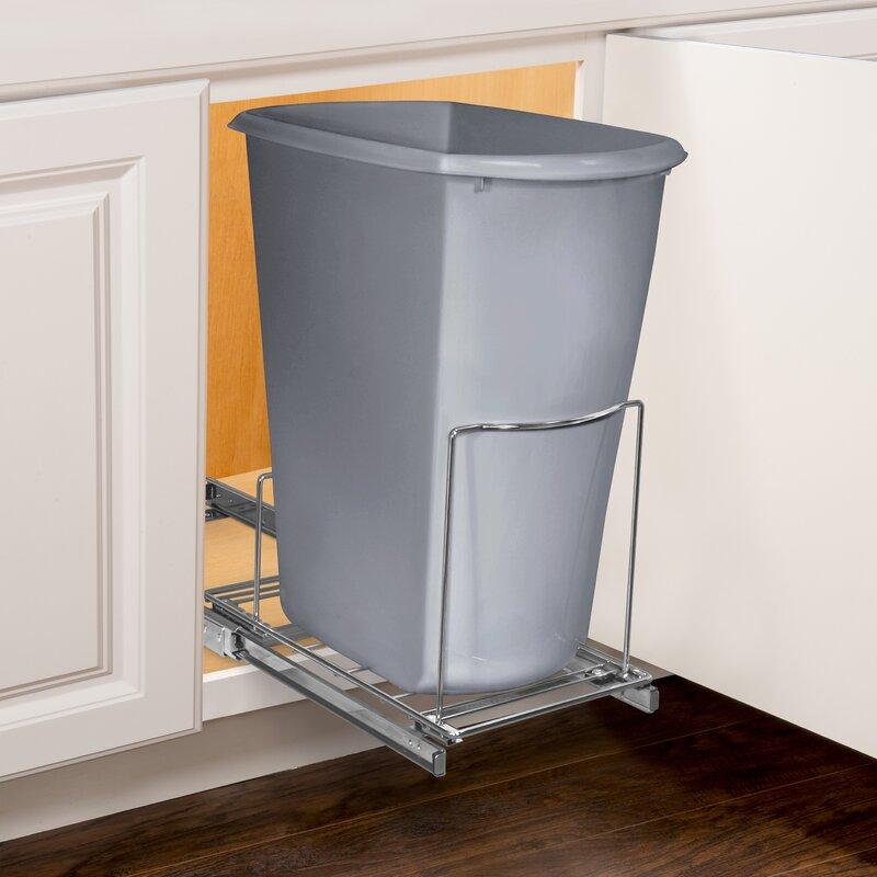 Professional® Slide Out Bin Holder Under Cabinet Pull Out Drawer