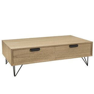 Coffee Table With Storage By Borough Wharf