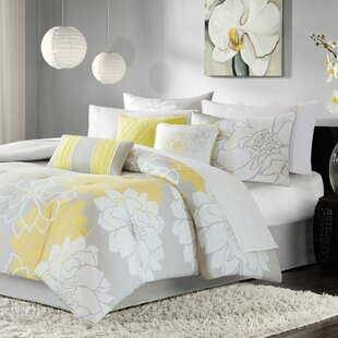 Broadwell 7 Piece Reversible Comforter Set by Red Barrel Studio