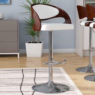 Amazing Reviews Wade Logan Lanesboro Adjustable Height Swivel Bar Stool Cjindustries Chair Design For Home Cjindustriesco