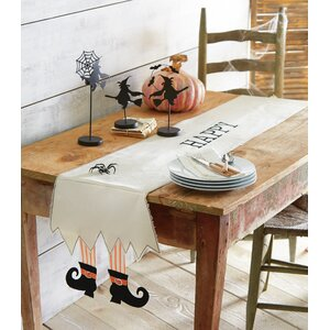 Witch Feet Table Runner