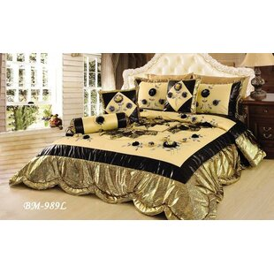 Royal Spring Blooms Comforter Set by Tache Home Fashion