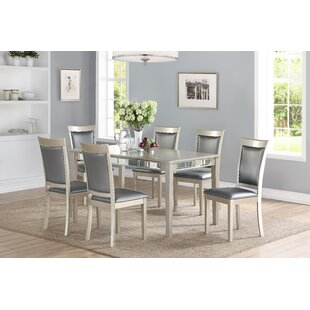 Matherne 7 Piece Dining Set House of Hampton