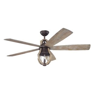 Farmhouse rustic ceiling fans birch lane 56 marcoux 5 blade ceiling fan with remotes aloadofball Images