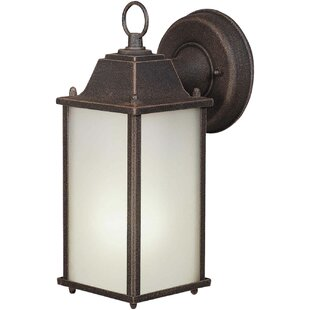 Affordable Springerton 1-Light Outdoor Wall Lantern By Charlton Home
