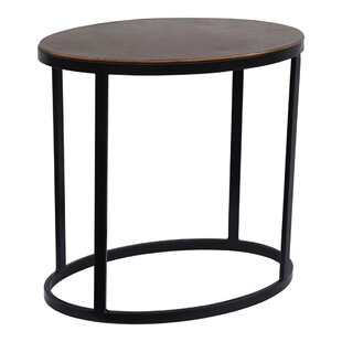 Barberton End Table by Ivy Bronx