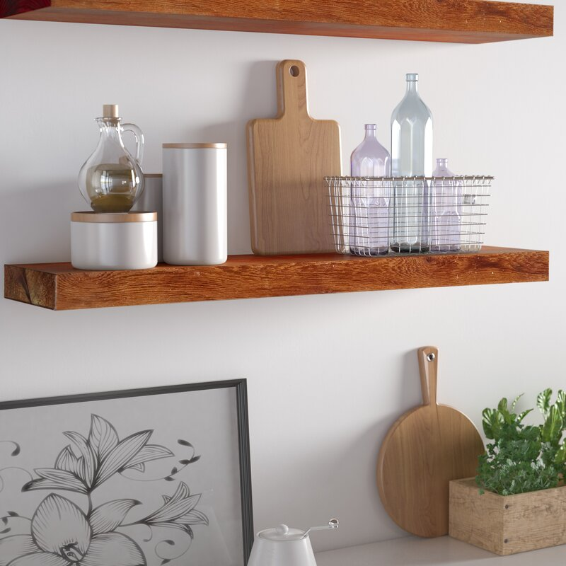 Rustic Shelves You'll Love in 2019   Wayfair