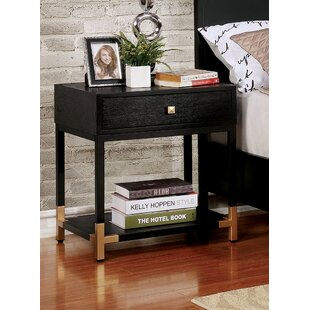 Affordable Heger 1 Drawer Nightstand by Mercer41