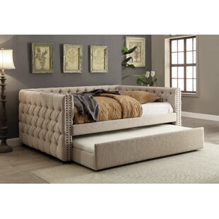 Diep Queen Daybed with Trundle by Charlton Home