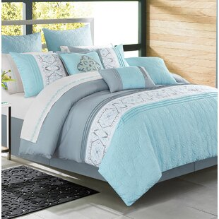 Enright Alysha Blue Comforter Set