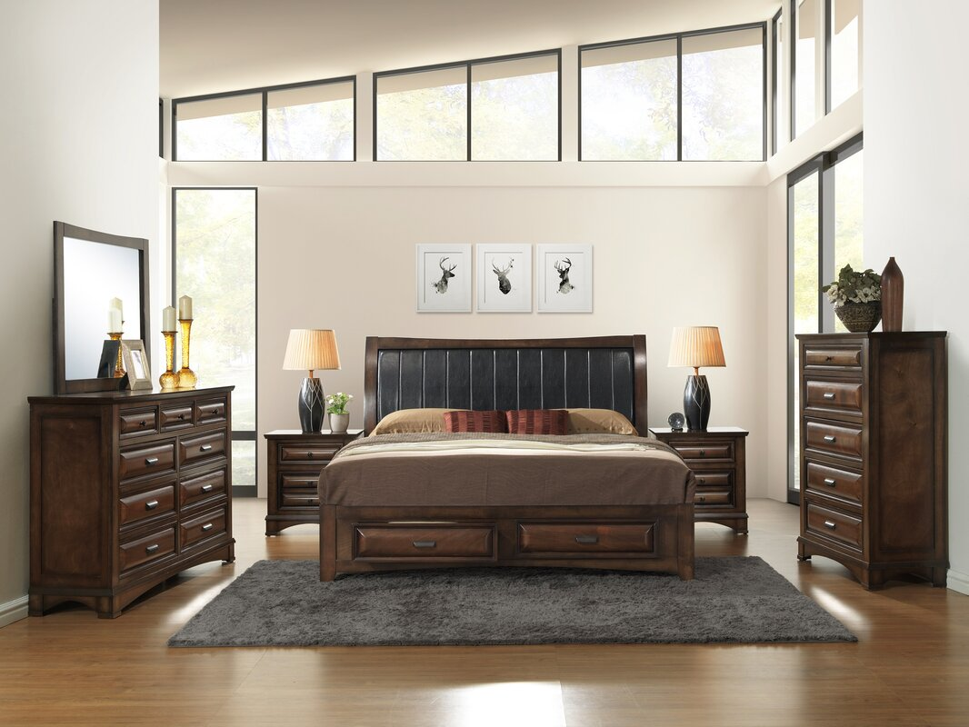Broval Platform 6 Piece Bedroom Set Interior Bedroom Ideas ookie1.com