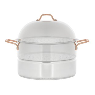 18 Qt. Premium Stainless Steel 3 Tier Steamer with Lid